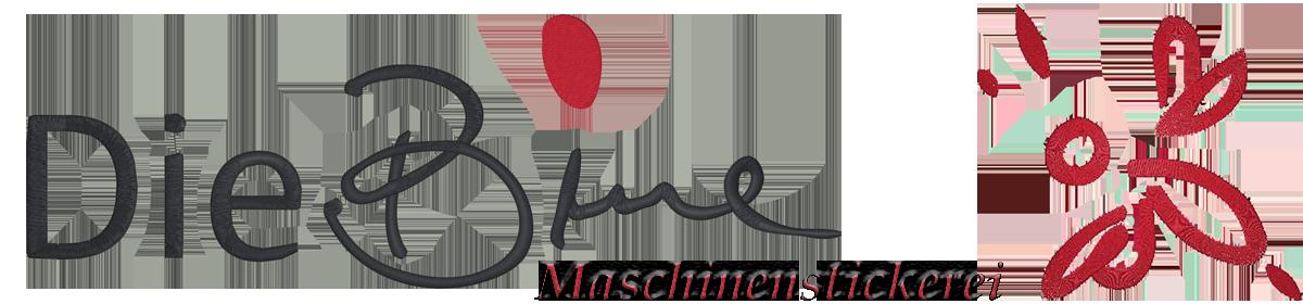 dieBine.de - Maschinenstickerei Logo